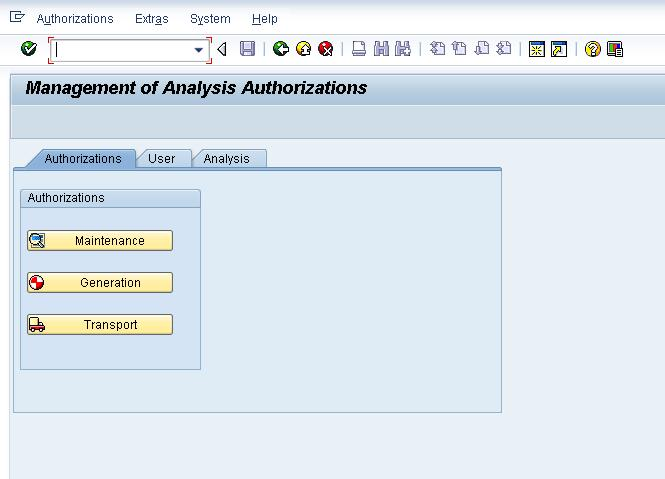 authorization t-code in sap