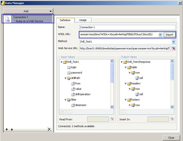 19) Import query in Xcelsius1.jpg