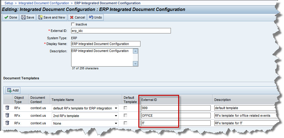SAP ERP RFQ Integration With SAP Sourcing How To Choose Which RFx - Erp requirements template