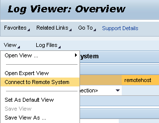 Michal's PI tips: Logviewer – connecting to an offline remote system