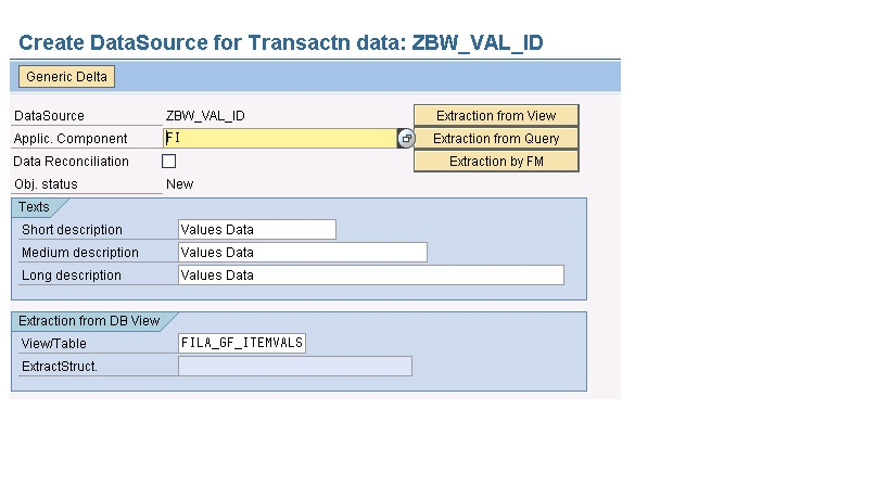 Creation of Generic Datasource using Time Stamp as Delta | SAP Blogs