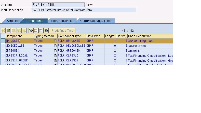 Adding the SAP BW Hidden Field in the Extractor with help of Sample