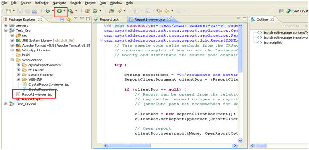 deployment of crystal report or crystal rpeort 2008 on apache tomcat