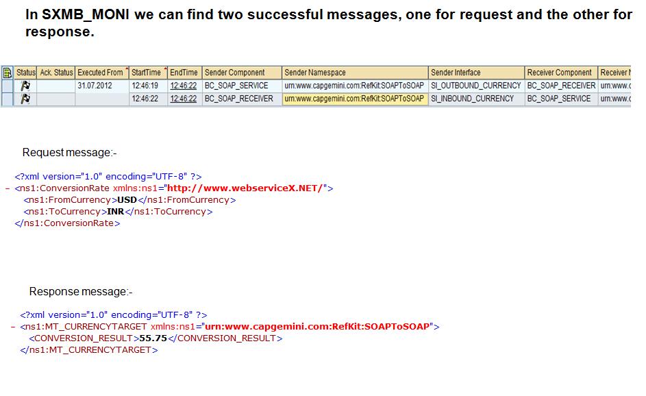SOAP TO SOAP Demo   SAP Blogs