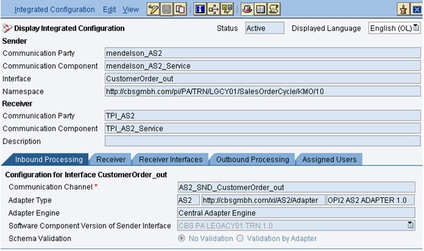 How To: OPI2 AS2 Adapter Test Scenarios | SAP Blogs