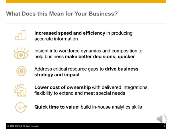 SAP's offering for Workforce Planning and Analytics | SAP Blogs