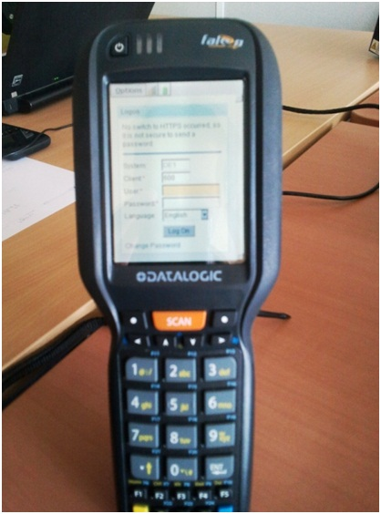 RF Menu Configuration with ITS Mobile | SAP Blogs