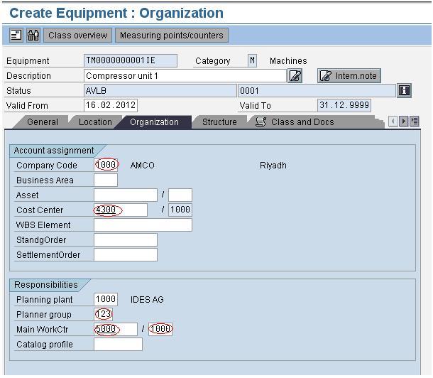 Plant Maintenance Master Data Create/ Upload using LSMW (Method