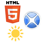 sunny xcelsius HTML5.png