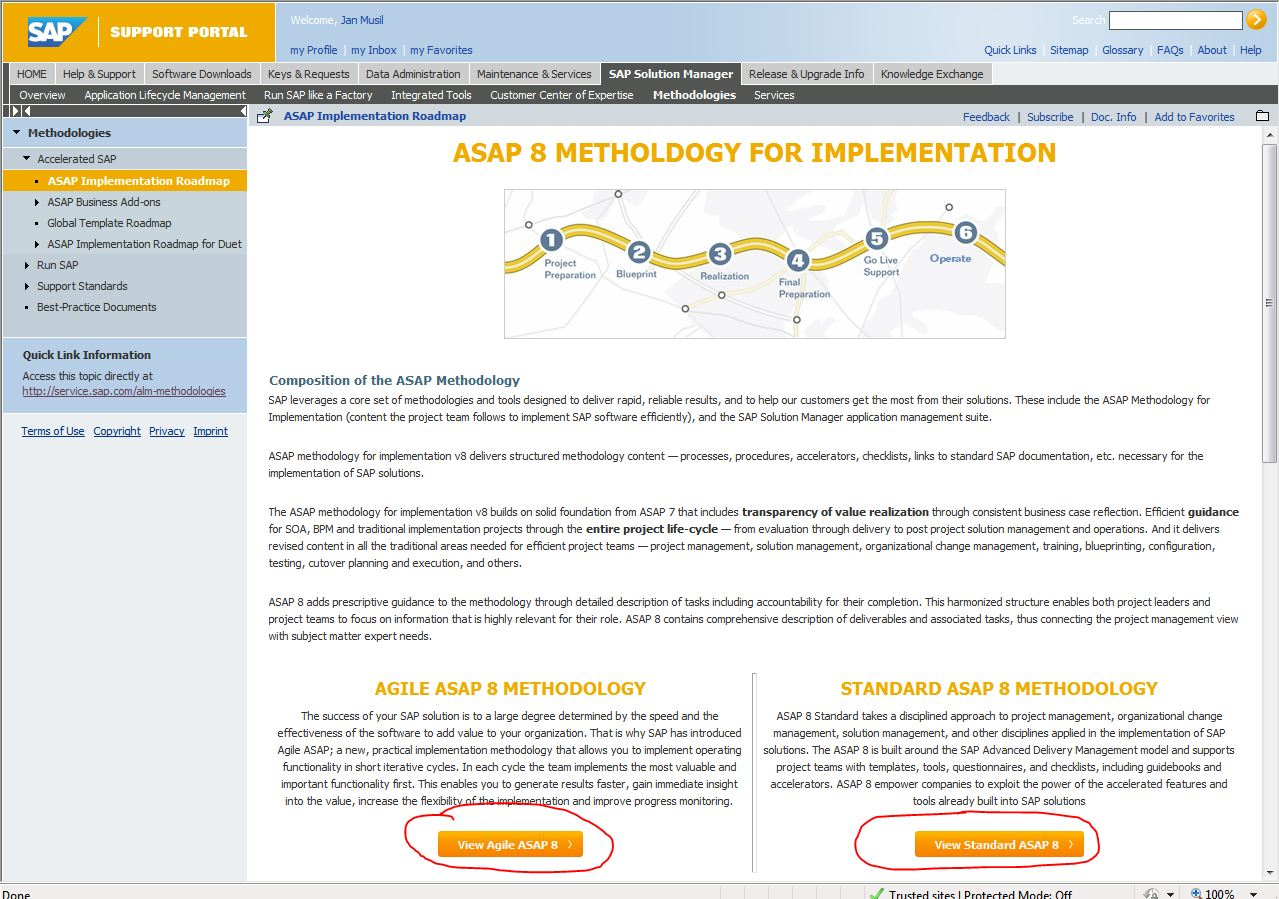 How to access asap methodology for implementation v8 sap blogs access asap methodology content in service marketplace each deliverable provides wbs dictionary definition list of tasks supporting creation of malvernweather Gallery