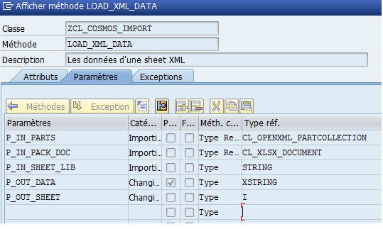 How to put XLSX or XLSM data to internal table from BSP or