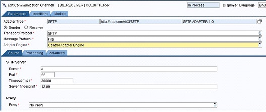 SFTP Adapter in PI 7 3x | SAP Blogs