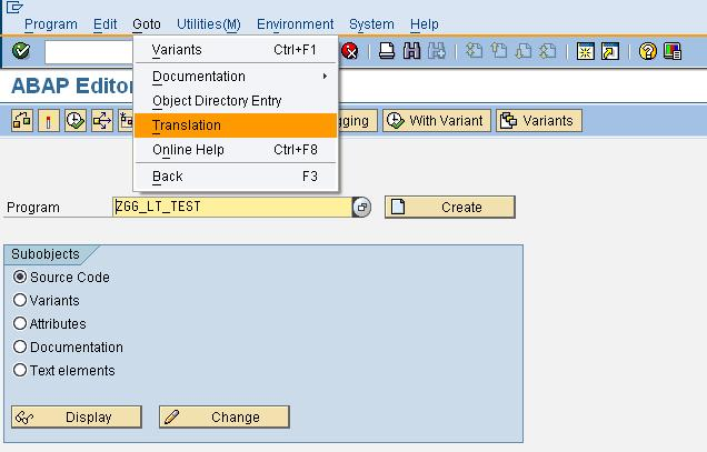 Language Translation Tool for SAP Technical Objects | SAP Blogs