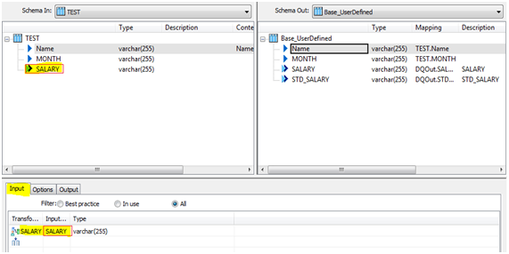How to use User_Defined Transform in Data Services 4 x using