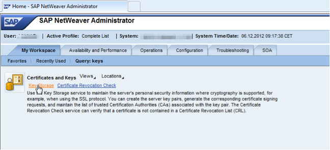 How to Load keys and certificates in SAP PI 7.3, SAP PO 7.3 EHP1 ...