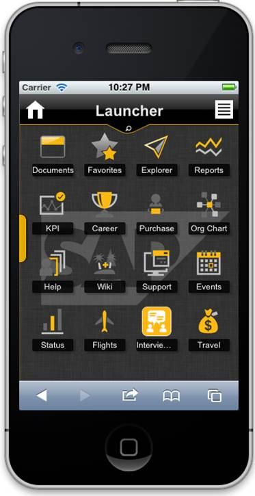 SAP NetWeaver Portal – Mobile Portal Applications | SAP Blogs