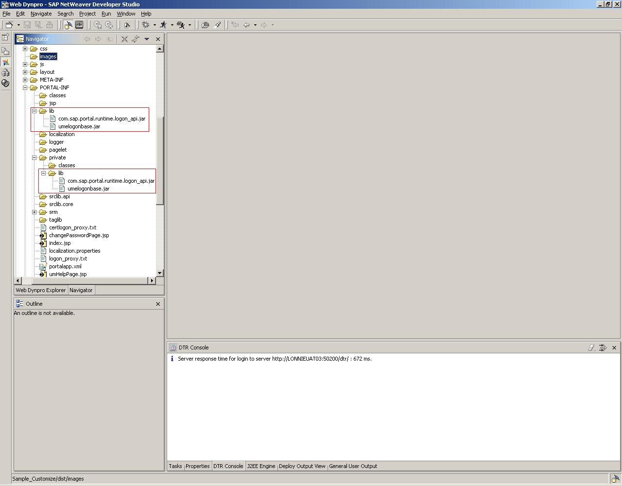 customization of enterprise portal logon page1 sap blogs