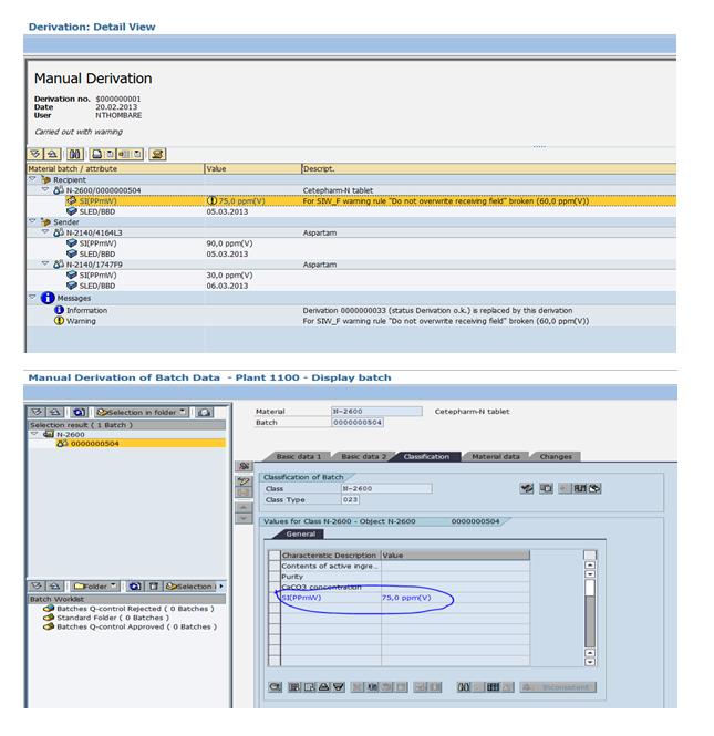 Batch Derivation with BADI Derivation | SAP Blogs