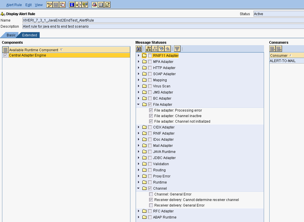 PI Alerting on AAE/AEX | SAP Blogs
