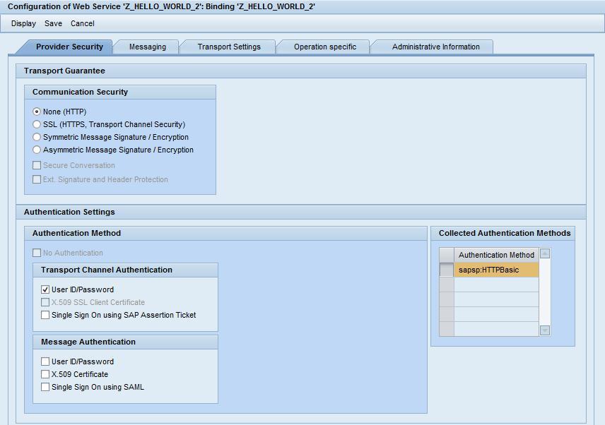 Create an SAP Web Service, Call Web Service from  Net