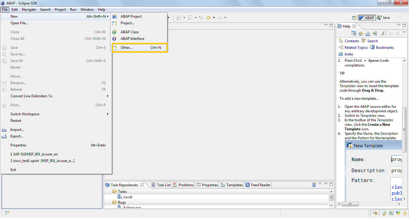 ABAP Workflow in Eclipse | SAP Blogs