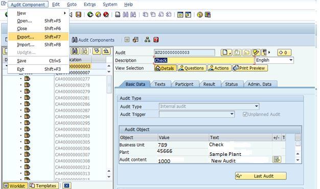 xml generation in audit management sap blogs