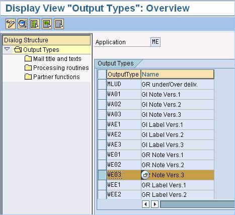 Configuring Output Device for Good Receipt Slip On MIGO