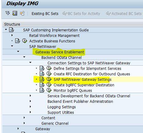 quick starter configuration guide sap gateway sap blogs rh blogs sap com SAP Modules SAP Modules