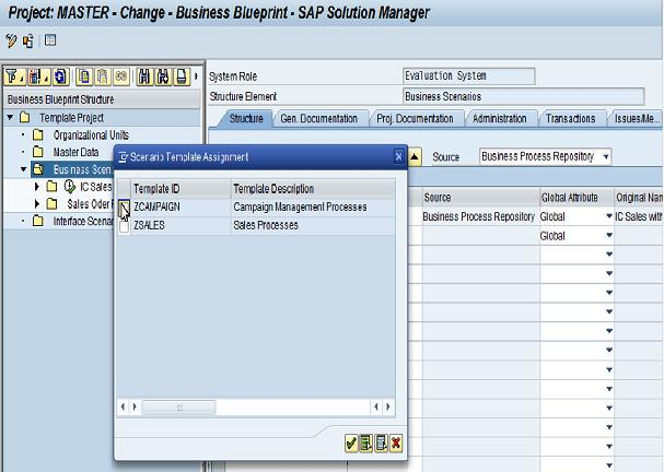Template management part i sap blogs assign businessprocess to templates flashek Image collections