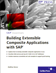Building Extensible Composite Applications with SAP - Book Cover
