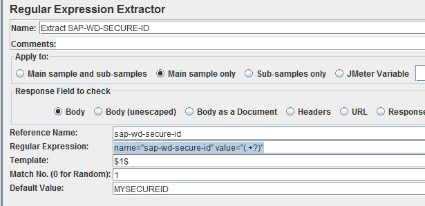 JMeter - extract sap-wd-secure-id.png