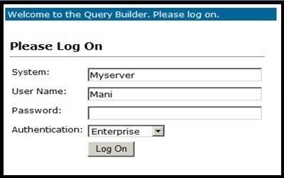 BusinessObjects Query builder – Basics   SAP Blogs