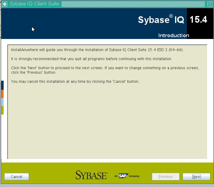 SYBASE IQ ODBC DRIVER FOR WINDOWS DOWNLOAD