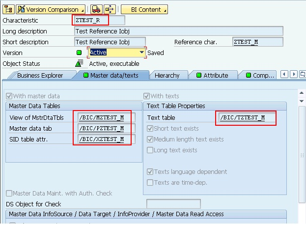 Understanding Reference and Template Characteristics in SAP BW | SAP