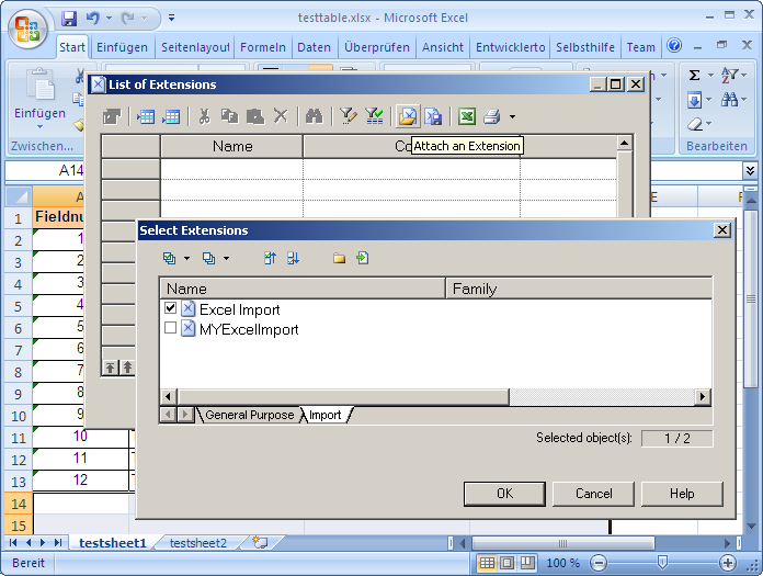 Using the Excel_Import xem | SAP Blogs