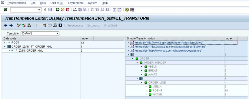 Simple Transformation – De-serialization | SAP Blogs