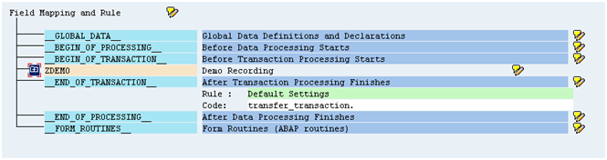 SAP List of Authorization Objects