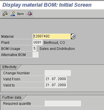 Bill Of Material Settings in CRM and ECC | SAP Blogs