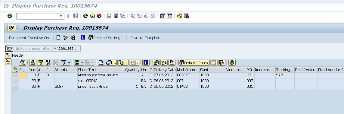 template purchase order sap  New Functionality in MM Between R/3 4.7 TO ECC 6.0 EHP5 | SAP Blogs