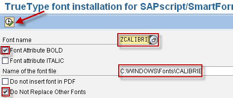 Adding New Font to SAP | SAP Blogs