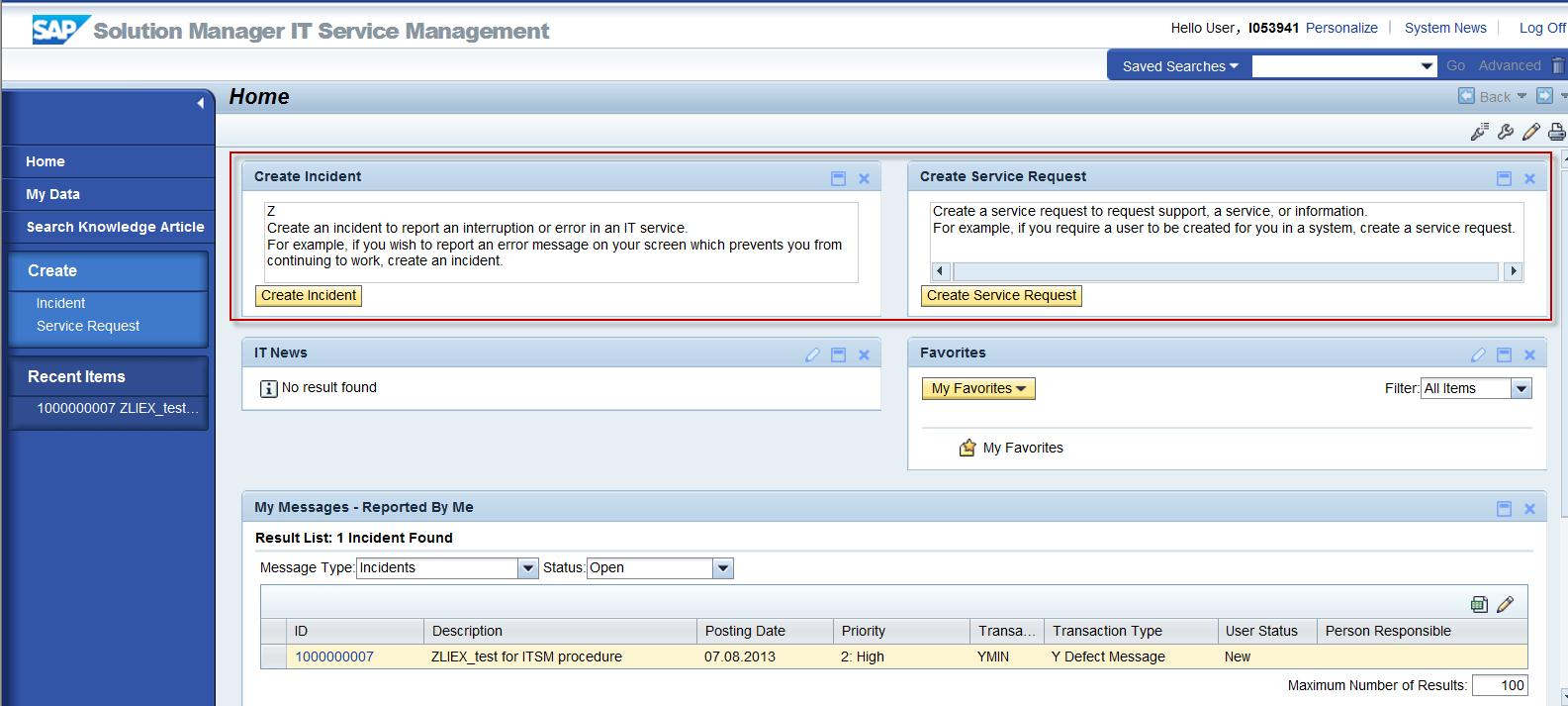 Itsm guide how to adjust end user view creation widgets sap blogs 24 result xflitez Choice Image