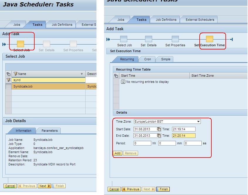 Now schedule your NW Business Process in NWA Job Scheduler | SAP Blogs