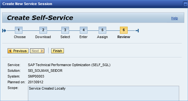 sap how to know if transaction running through personas