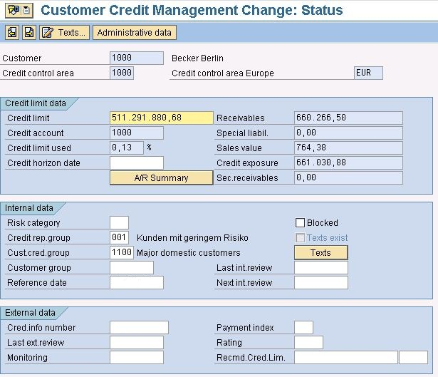 Credit Report For Creditor Use