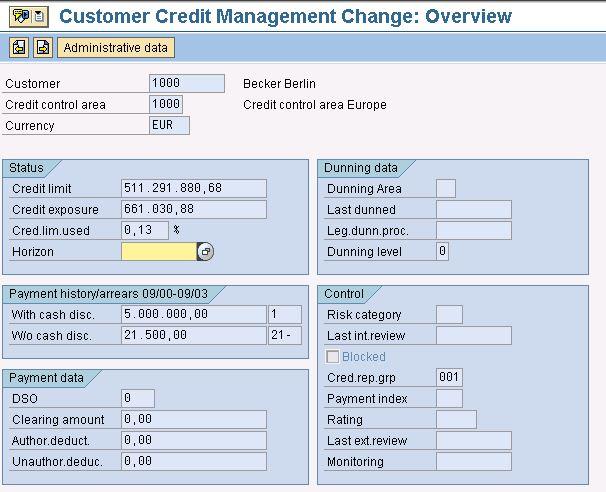 Configure and Customize SAP Automatic Credit Management | SAP Blogs