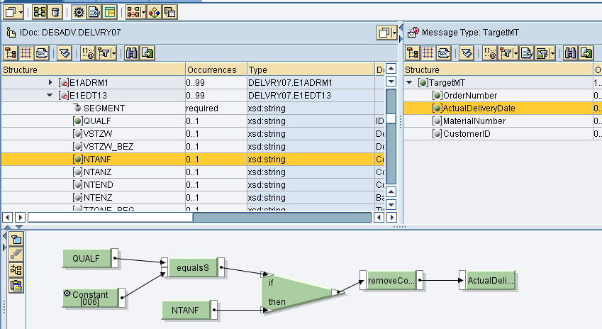 Sharing data between two message mappings through Dynamic
