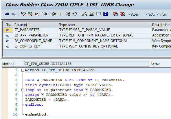 how to write code in sap query
