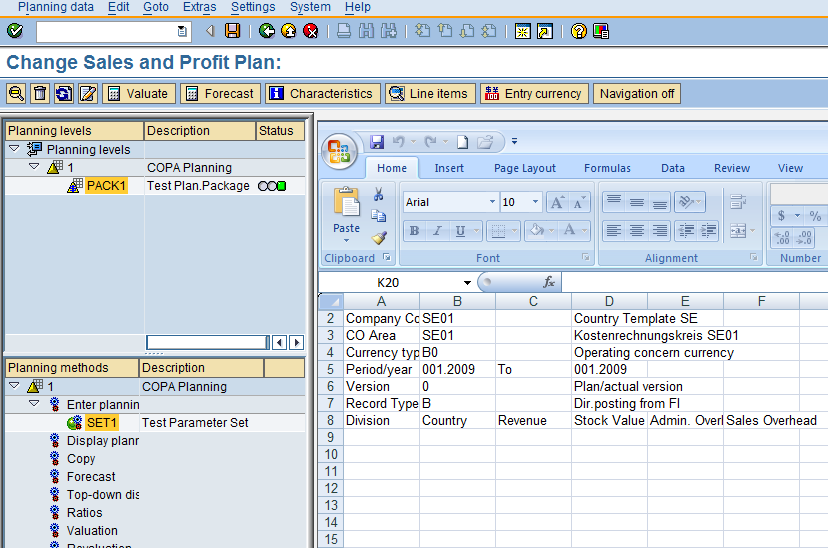 COPA Planning   SAP Blogs