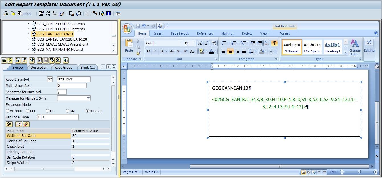 Printing in Bar code in SAP EHS WWI | SAP Blogs