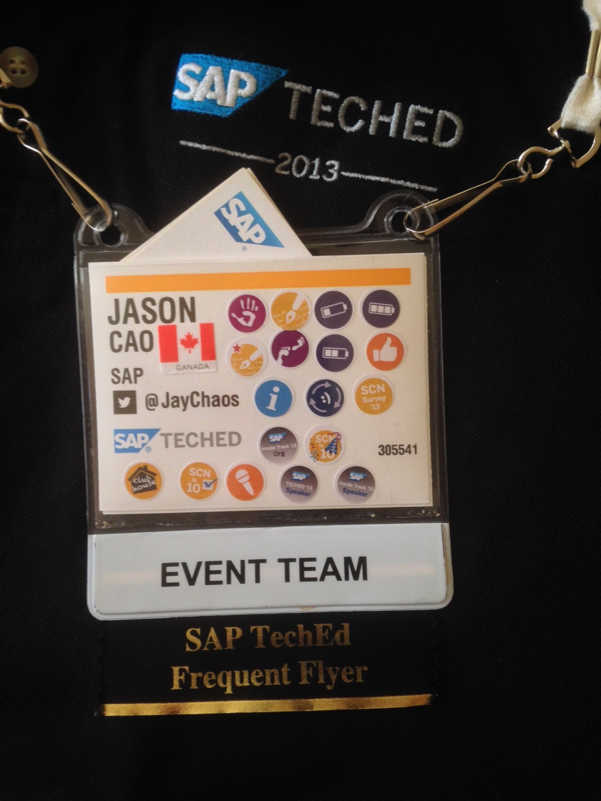 SAP TechEd 2013 Las Vegas.JPG